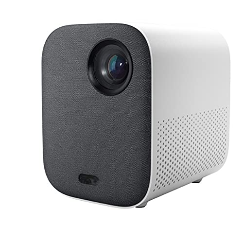 KIUY Proyector 1080P, proyector Inteligente de Alta definición, proyector portátil en casa, Adecuado para Videojuegos HDMI USB Sincronización de teléfonos Inteligentes