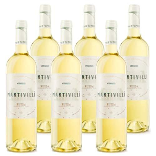 Verdejo 2020 Martivilli Verdejo 2020 (6 x 75 cl.) Vino blanco de Rueda