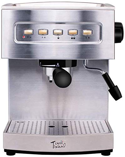 Jsmhh 19bar Halbautomatische Espressomaschine Schnelle Heizung Konzentration Einstellbare Shuangwen Control System Dreifach-Schutz-Kaffee-Maschine for das Aufschäumen for die gewerbliche Nutzung