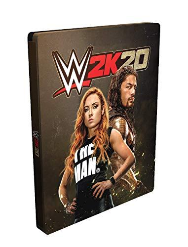 WWE 2K20 Standard PS4 + Steelbook Da Collezione [Esclusiva Amazon]