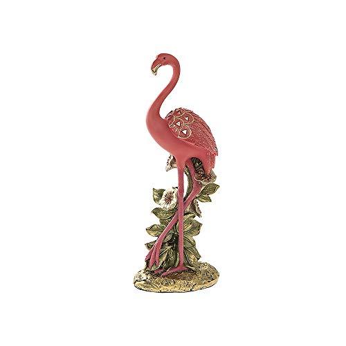 Glitter Flamingo Standing Ornament Small LP42543