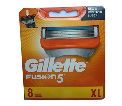 Auslaufmodell Gillette Fusion5 Rasierklingen Power für Herren,  8 Stück