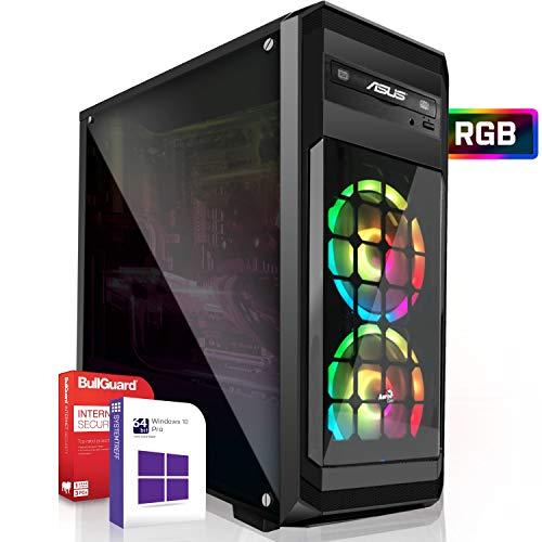 Gaming PC/Multimedia Computer inkl. Windows 10 Pro 64-Bit! - AMD Quad-Core FX-4100 4X 3,8 GHz Turbo - NVIDIA GeForce GT 730 mit 4GB RAM - 8GB DDR3 RAM - 1000 GB HDD - 24-Fach DVD Brenner - USB 3.0