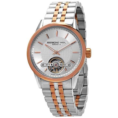 Raymond Weil reloj automático de dos tonos para hombre 2780-SP5-65001
