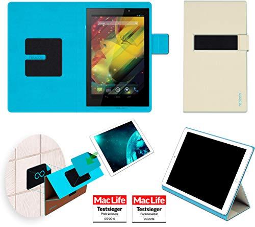 Hülle für HP Slate 7 VoiceTab Tasche Cover Hülle Bumper | in Beige | Testsieger