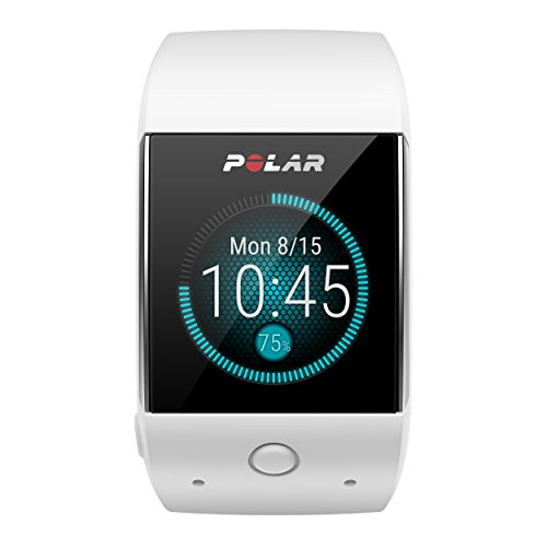 Polar M600 GPS Smart Sports Watch/Heart Rate Monitor, White - Compatible with iPhone and Android Phone