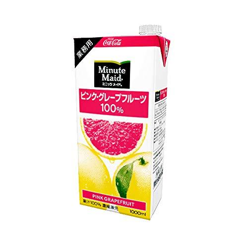コカ・コーラ カスタマーマーケティング『ミニッツメイド ピンクグレープフルーツ 100%』