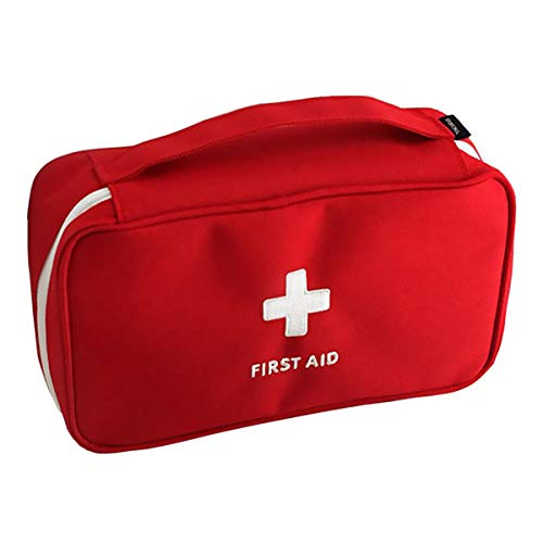First Aid Kit Empty Bag Travel Emergency Survival Pouch Medical Storage Bag Case Medicine Package Portable with Compartments