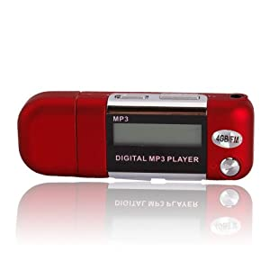2/4/8GB USB 2.0 Flash Drive LCD Mini MP3 Music Player w/FM Radio Voice Recorder