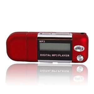 2/4/8GB USB 2.0 Flash Drive LCD Mini MP3 Music Player w/FM Radio Voice Recorder