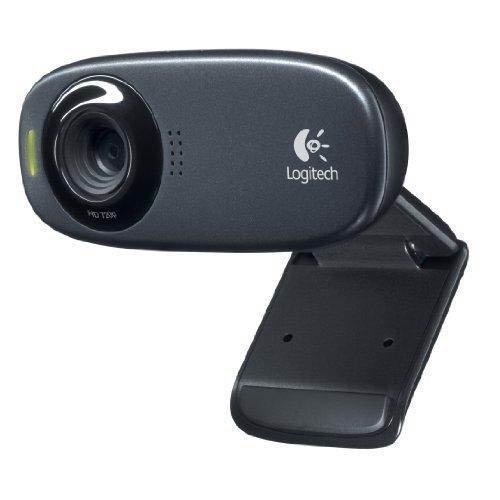 Logitech HD Webcam C310 Webcam HD Microphone intégré 5 mégapixels Technologie Fliud Crystal Compatible Skype/MSN/Facebook