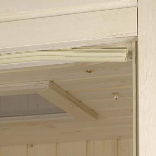 eliga Türdichtung beige für Glas/Holztüren