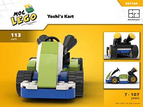 Yoshi's Kart (Instruction only): MOC LEGO (English Edition)