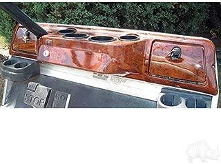 Parts Direct Club Car DS Golf Cart Custom Dash Assembly Wood Grain