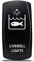CH4X4 Marine Rocker Switch Livewell Lights Symbol