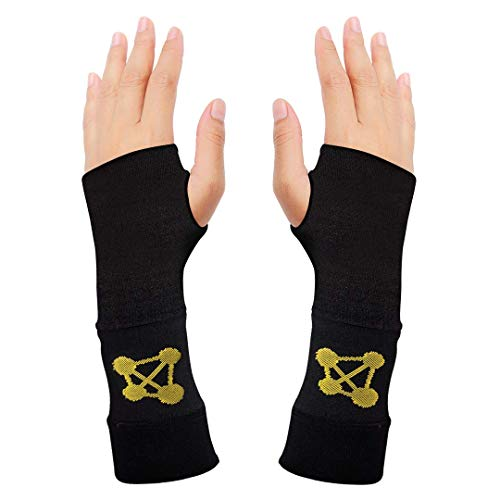 Wrist Brace for Carpal Tunnel Relief - Wrist Compression Sleeve and Tennis Wrist Support - Ideal for...