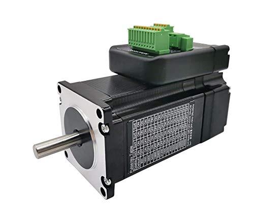 MAQRLT Schrittmotor, Integrated Closed-Loop-NEMA23 Motor mit Treiber IHSS57-36-20 2 Nm 36V Position Encoder für Lazer 3D-Drucker CNC-Steuerung, Feinmotorik Spielzeug