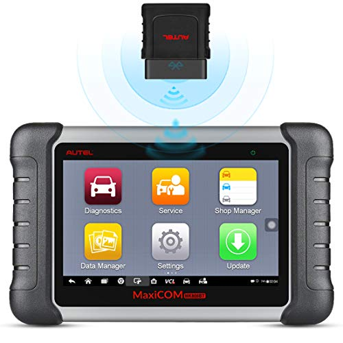 Autel Scan Tool MaxiCOM MK808BT OBD2 Scanner with All System Diagnosis and 23 Service Functions...
