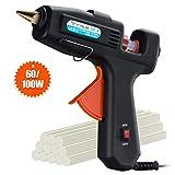 Hot Glue Gun, TOPELEK 60/100W Dual Power High Temp Heavy Duty Professional Melt