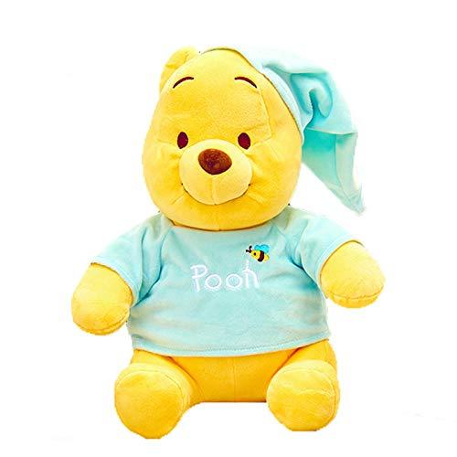 DONGER Oso muñeca Peluches muñecas Mickey Minnie Toys-Pijama Azul-Bear_22 cm