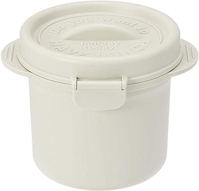 スケーター ココット型 保存容器 640ml おかず容器 パウダーカラー ホワイト UDG1T