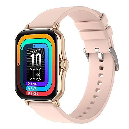 ZGZYL Y20 Smart Watch Ladies 1.7 Pulgadas Presión Arterial Tasa De Corazón Smart Watch Fitness Tracker Cronómetro Pedómetro Impermeable Men's Smart Watch P8 Plus para Android iOS,D