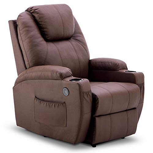 Mcombo Electric Power Recliner Chair with Massage and Heat, 2...