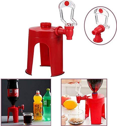 Etrange Machine à Boisson gazéifiée à Pression Manuelle créative, Distributeur de Bouteille de cola, Outil de Pression à Main de commutateur de Boisson (1PCS)