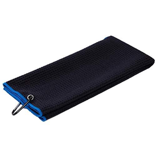 JUSTDOLIFE JUSTDOLIFE Golf Handdoek Creatieve Quick-Dry Golf Accessoires Microvezel Sporthanddoek met Clip
