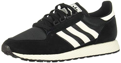 adidas Forest Grove, Scarpe da Ginnastica Uomo, Core Black/Cloud White/Chalk White, 42 2/3 EU