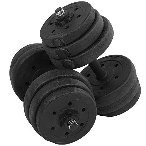 KUIDAMOS Haltère réglable d'équipement de Forme Physique d'haltère pour l'entraînement de Forme Physique à la Maison ou au Bureau
