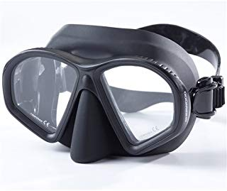 Sherwood Scuba Onyx Low Volume Adult Scuba Diving, Free Diving Mask / Fits many faces
