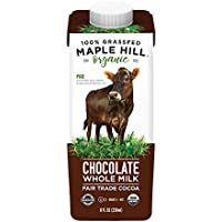 Maple Hill Shelf Stable Whole Chocolate Milk 100% Grass Fed