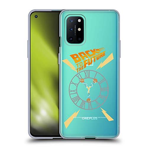 Head Case Designs Oficial Back to The Future Torre del Reloj I Gráficos Carcasa de Gel de Silicona Compatible con OnePlus 8T 5G
