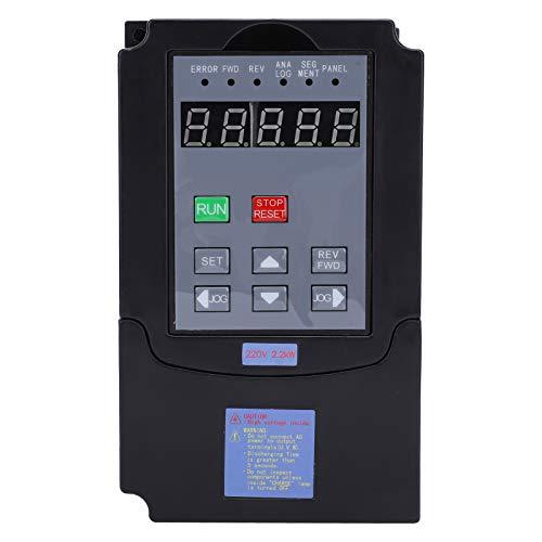 Cosiki Variador de frecuencia Variable, Resistente a Impactos, Estable, práctico inversor ABS, para Motores de husillo, tornos