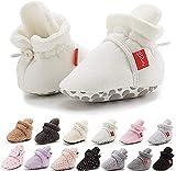 Botines antideslizantes para bebés y niñas, de algodón, suela suave, para...