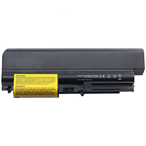 10.8V 7800mah Notebook Laptop Akku für IBM Lenovo ThinkPad T61p T-61 R400 R-400 T400 T-400 2764 7417 T61 1959 6377 6378 6379 6480 6481 7658 7659 7660 7661 7662 7663 7664 7665 ASM 42T5265 42T4677 42T5225 42T5227 43R2499 42T4530 42T4548 40Y6795 Battery