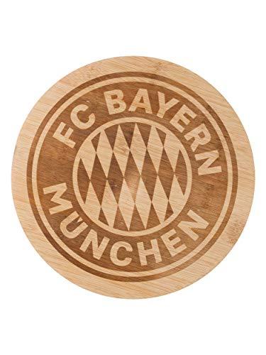 FC Bayern München Brotzeitbrettchen rund