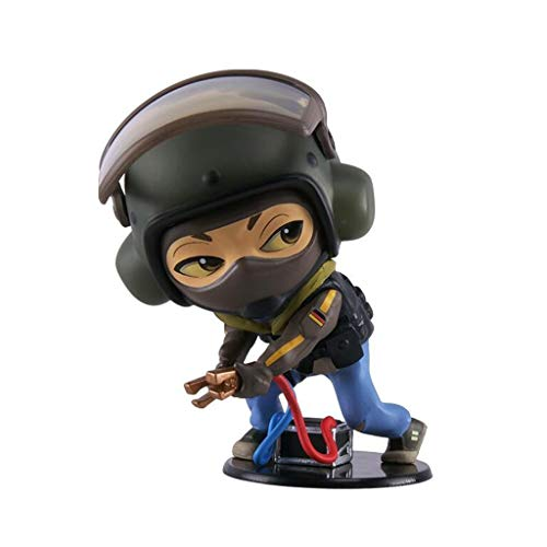Luckly77 Bandit Rainbow Six overwinning PVC mini figuur, Rainbow Six overwinning collectie