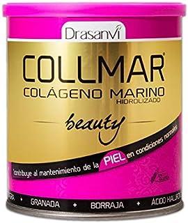 COLLMAR Beauty Colágeno Marino Hidrolizado con Ácido Hialurónico. Vitamina C. Biotina. Aceite