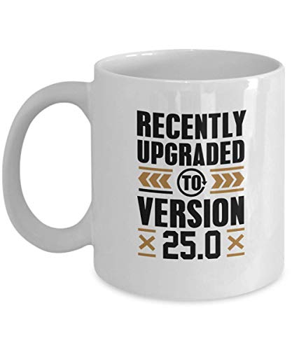 WTOMUG Gamer, Birthday Coffee Mug, Funny Gift for Gamer, Birthday - Recently Upgraded To Version 25.0 Computer Games, Play Station, Wii, Xbox Coffee Cup 11 Oz