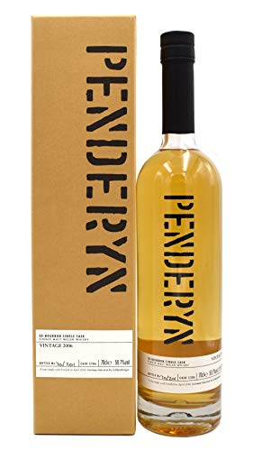 Penderyn Ex-Bourbon Single Cask Whisky 0,7l Vintage 2006