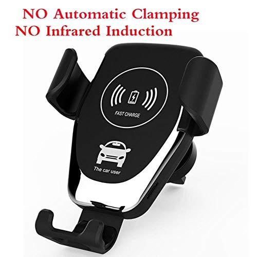 Miwaimao Automatische klemmen draadloze oplader auto beugel intelligente infrarood sensing GPS ventilatie gat vaststelling mobiele telefoon beugel