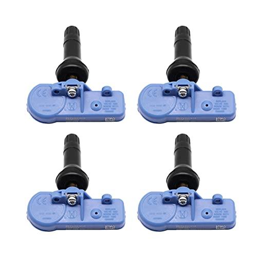 SSXPNJALQ Sensor de presión de neumáticos Ajuste para 2012-2015 Opel Mokka (J-A) Chevrolet Cadillac Yukon 433MHz TPMS Monitor de presión de neumáticos Sensor 20922901 (Color : 4PCS)