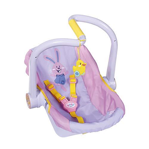 BABY born Komfort-Sitz für 43cm Puppe - Mit Gurt - Leicht für Kleine Hände, Kreatives Spiel fördert Empathie & Soziale Fähigkeiten, für Kleinkinder ab 3 Jahren
