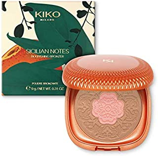 Bronzer Kiko Cosmetics Sicilian Notes Nourishing Bronzer Cor 02