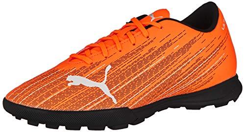 PUMA Ultra 4.1 TT, Scarpe da Calcio Uomo, Arancione (Shocking Orange Black), 39 EU