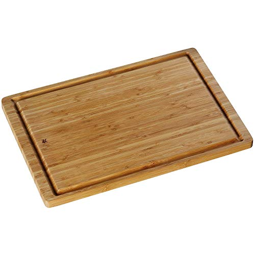WMF Bamboo Tabla de Cortar de Madera de Bambú con Surco para Líquidos, 45 x 30 cm