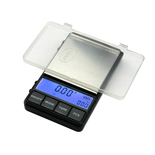 American Weigh Scale AC Pro Series Digital Pocket Weight Scale, Black, 200 x 0.01G (ACP-200)