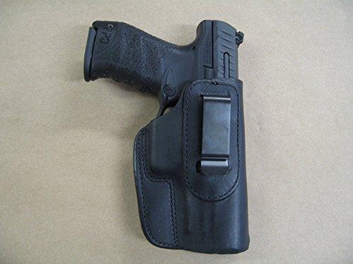 H&K 45, USP 45, Mark 23 Heckler & Koch IWB Leather In The Waistband Concealed Carry Holster BLACK RH